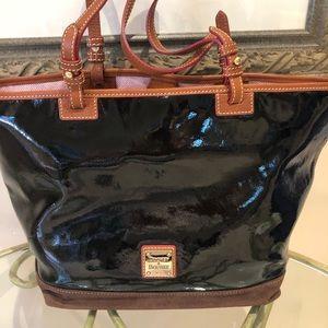 [Dooney & Burke] black purse.